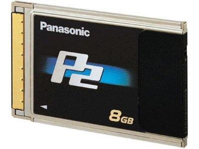 Panasonic 8 GB P2 Card