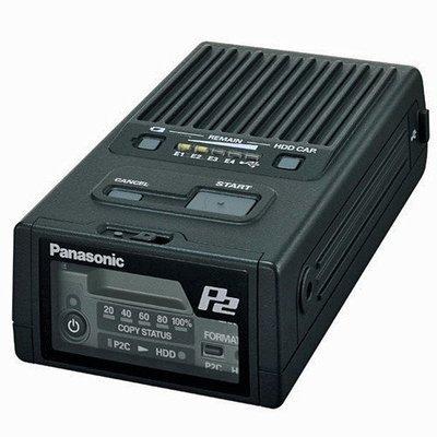 Panasonic P2 Card Portable Hard Disk Download Unit