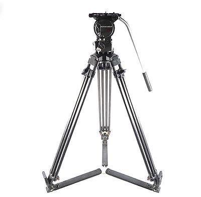 Oconnor 1030B 100mm Fluid Head w/Ronford Baker Standard Legs w/Floor Spreader