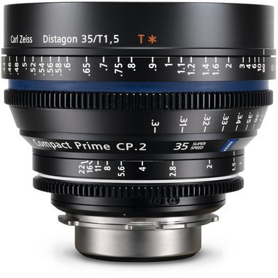 Zeiss Compact Prime CP.2 PL Mount 35mm T1.5 (Feet) Super Speed