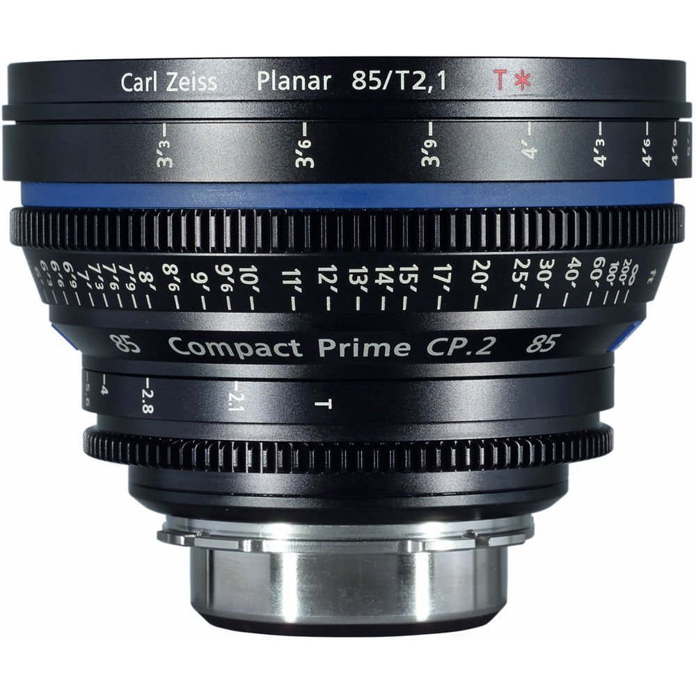 Zeiss Compact Prime CP.2 PL Mount 85mm T1.5 (Feet) Super Speed