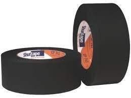 "2"" Black Paper Tape (Matte)"