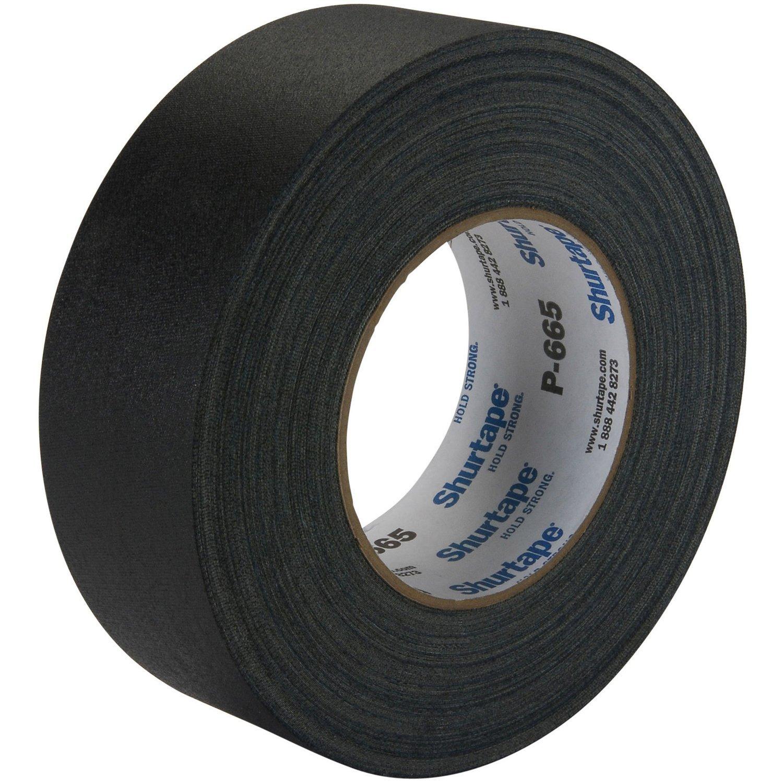 """2"""" Black Gaffer Tape"""