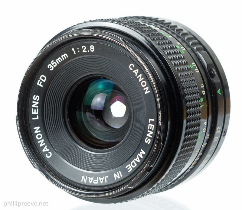 Canon FD Mount -35mm @52mm ring