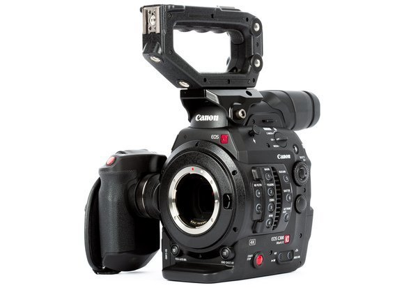 C300 Mark II w/ Zacuto Support