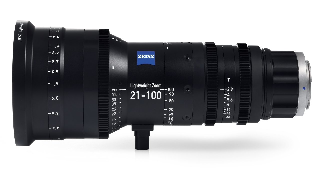 Zeiss Lightweight Zoom Lens 21-100mm/T2.9-3.9 - EF Mount