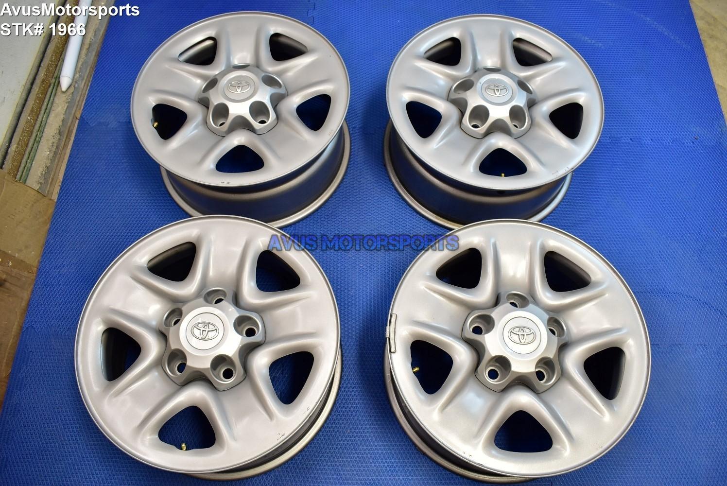 "18"" Toyota Tundra OEM Factory STEEL Wheels Sequoia Land Cruiser Lx570 2018 17"