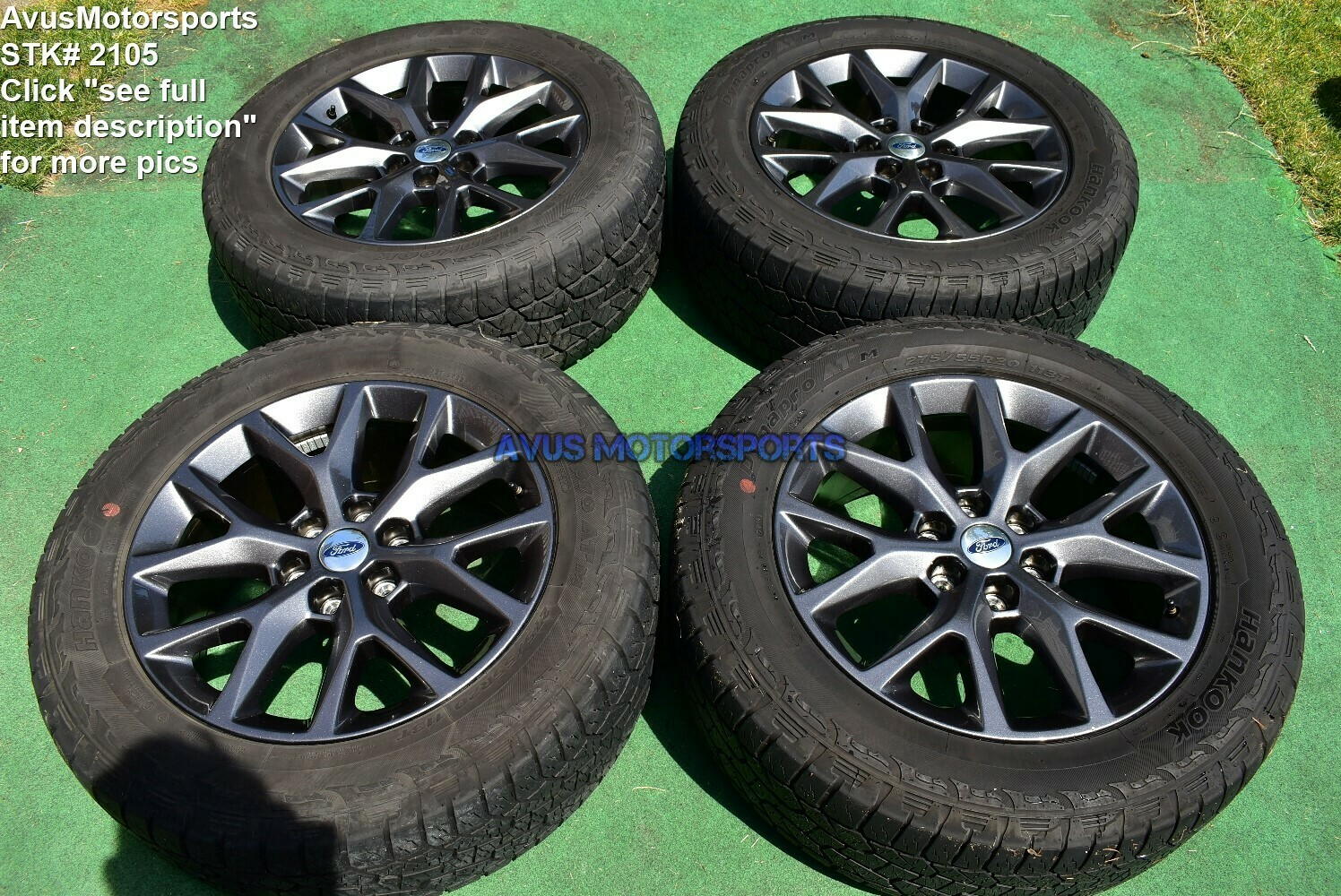 "20"" Ford Expedition OEM Factory FX4 XLT Lariat Wheels Tires  F150 2017 2016"