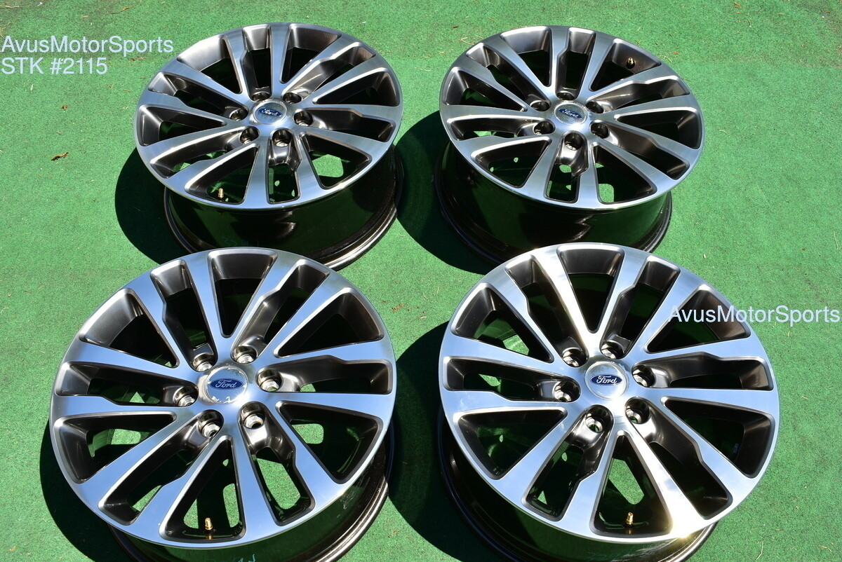 """20"""" Ford Expedition Limited OEM Factory Wheels F150 Lariat FX4 2019 2017 2018"""