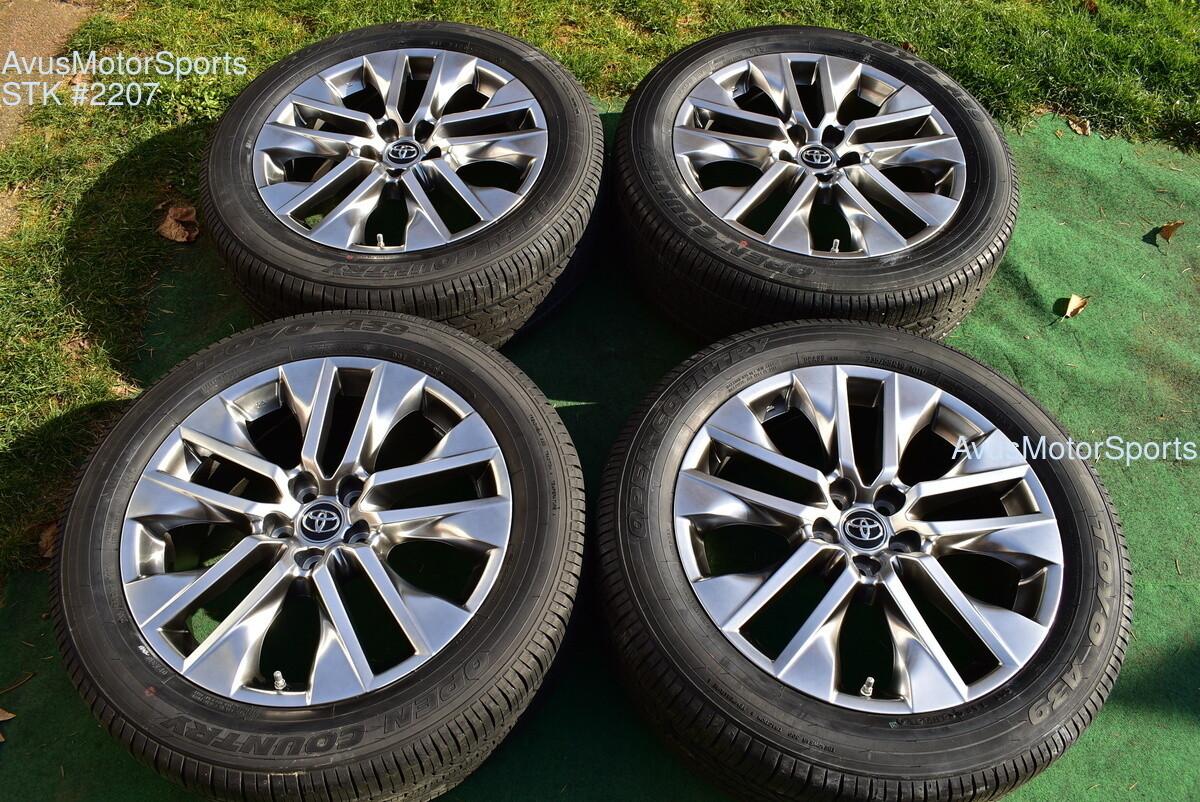 "19"" Toyota Rav4 Limited OEM Factory Wheels & Tires 235/55r19 + TPMS 2019"