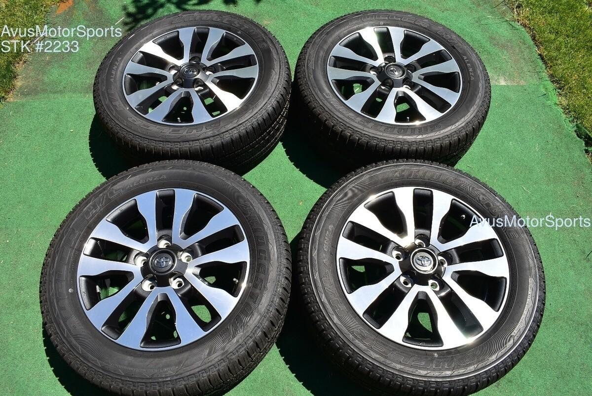 "20"" Toyota Tundra Limited OEM Wheels Tires Sequoia Land Cruiser Lx570 2019 TPMS"