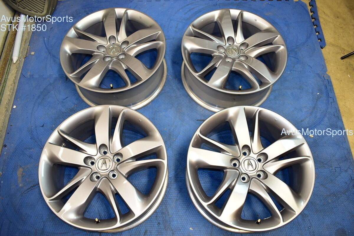 "19"" Acura RDX OEM FACTORY WHEELS Genuine 5x114 part#  	 TJB19080B"
