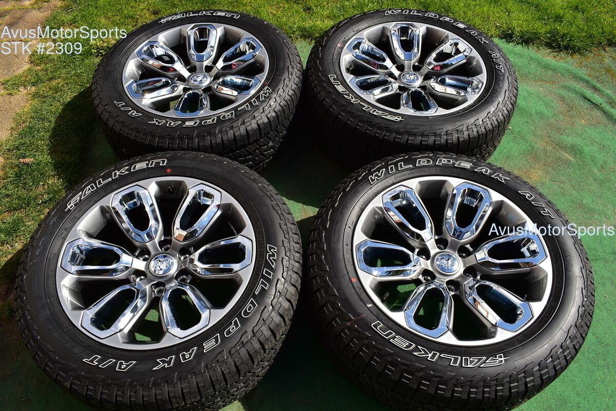 "20"" Dodge Ram 1500 Laramie OEM Factory sport appearance package Wheels 2020 tire"