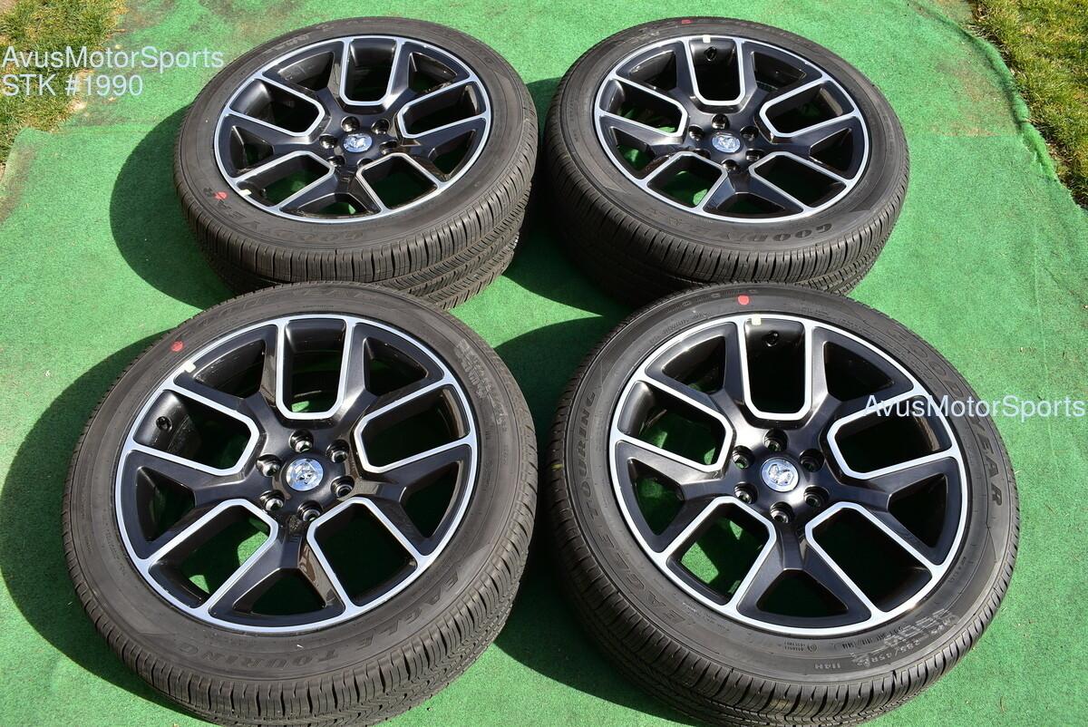 "22"" Dodge Ram 1500 OEM 2019 Limited Laramie Factory Wheels Genuine TPMS tires"