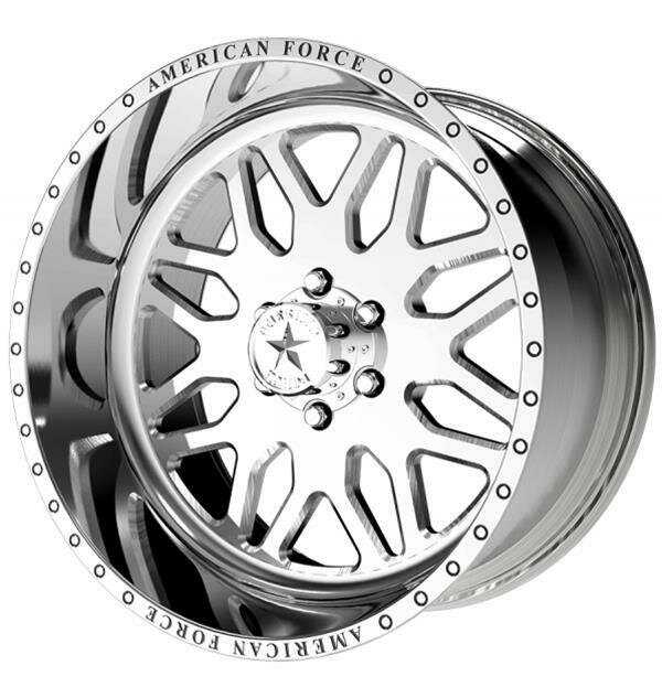 "22x10 American Force Trax SS Forged Wheels 22"" Chevy ram 6x135 -25"