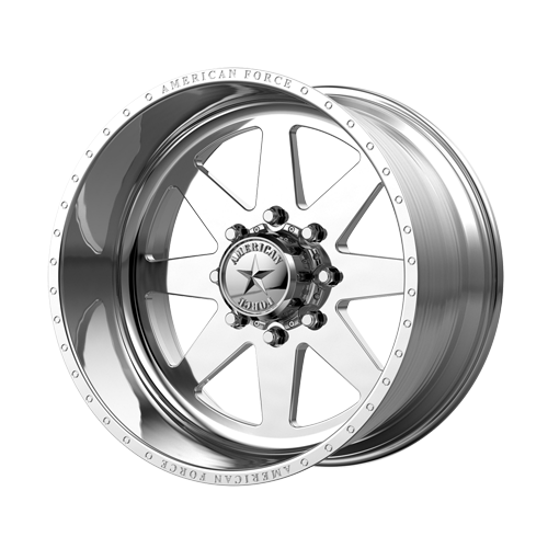 """24x14 American Force 11 Independence SS Forged Polished 24"""" Wheels Ford F250 F350 8x170 -73"""