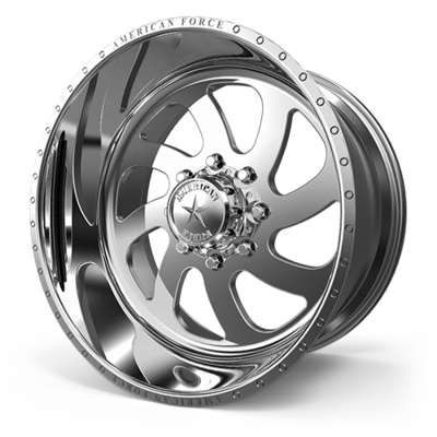 24x14 AMERICAN FORCE 76 Blade SS FORGED WHEELS 24