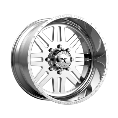 20x12 AMERICAN FORCE Liberty SS Polished Forged Wheels Chevy GMC HD 8x180