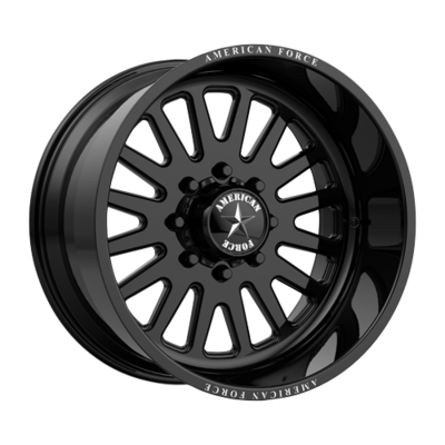 22x12 American Force F20 Atom SS Forged black 22