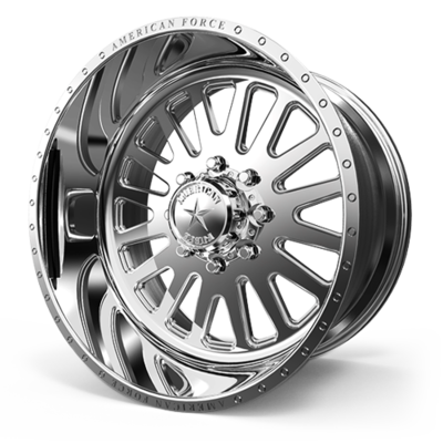 20x10 American Force F20 Atom SS Forged Polished 20