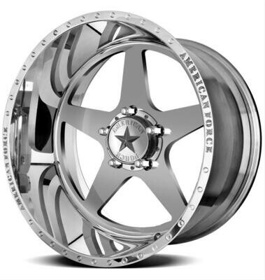 20x10 Set of (5) American Force Independence Forged Wheels 20