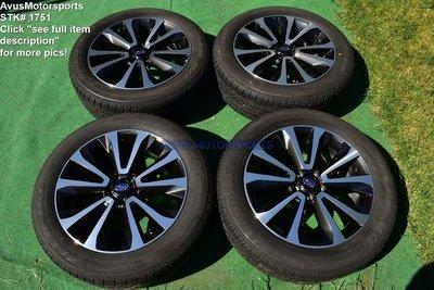 2017 Subaru Forester XT Limited OEM 18