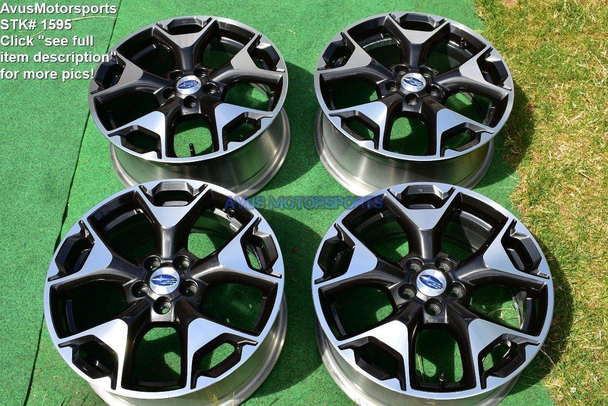 "2018 Subaru XV Crosstrek OEM 17"" Factory Wheels"