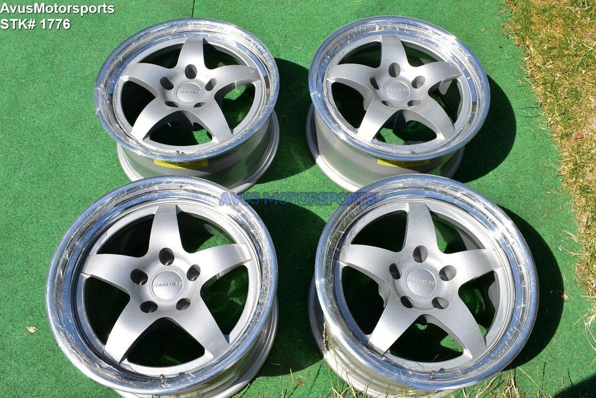 "17"" Forgeline SO3 Forged Wheels 5x4.75 corvette C5 C6 camaro 5x120.65 BMW Acura"