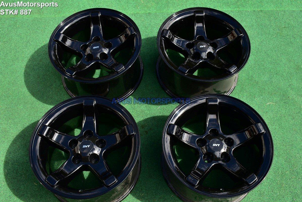 "18"" Ford F150 SVT Lightning OEM Factory Wheels Expedition Gloss Black 1999 2000"