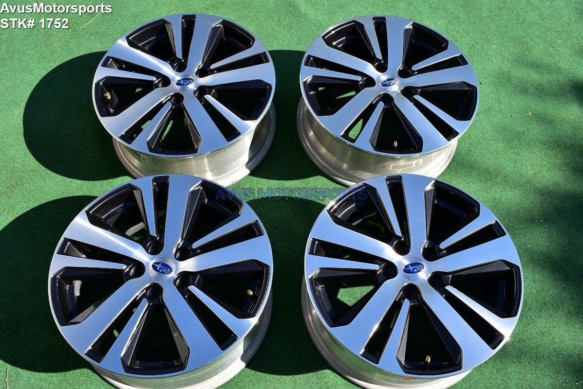"2018 Subaru Outback Limited OEM 18"" Factory Wheels Legacy 5x114 2015 2016 2017"