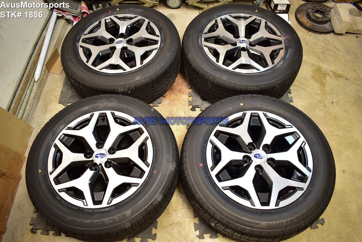 "17"" Subaru Forester OEM 17"" Factory Wheels P225/60R17 Tires 2019 5x114"