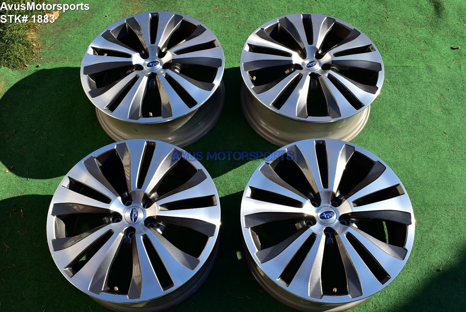 "20"" Subaru Ascent Limited OEM Factory Wheels 2019 Genuine"