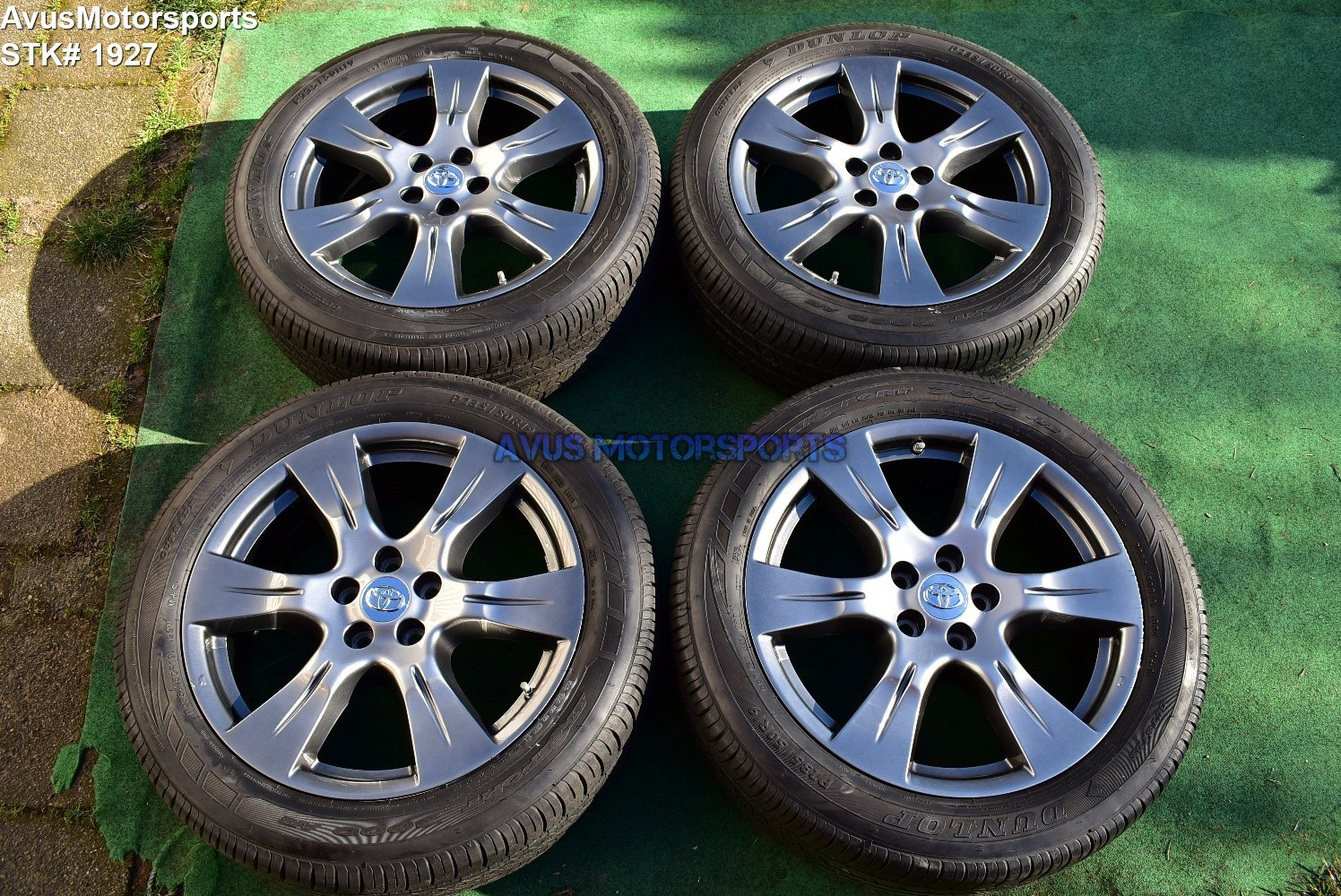 "Toyota Sienna SE OEM 19"" Factory Wheels Tires P235/50r19 2017"