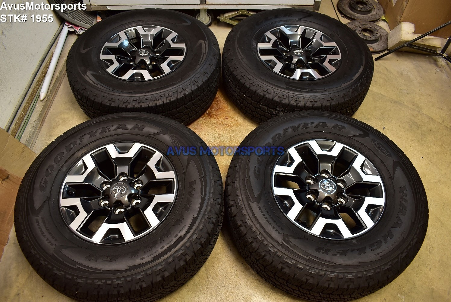 """16"""" TOYOTA TACOMA OEM FACTORY TRD OFFROAD WHEELS Tires 4runner Tundra 2019"""