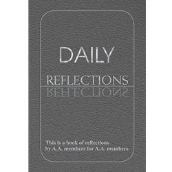 Daily Reflections (large print)