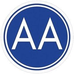 A.A. Meeting Sign