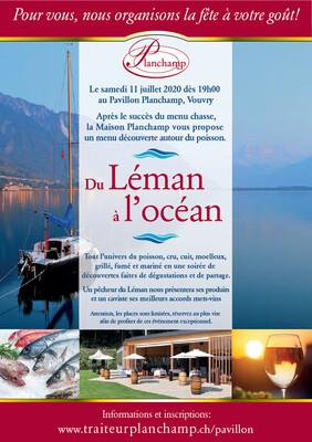 Repas Du Léman à l'océan