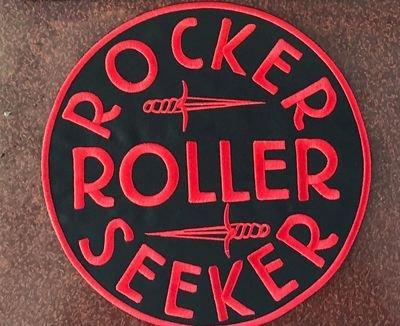 PATCH ROCKER ROLLER SEEKER ROUND BIG