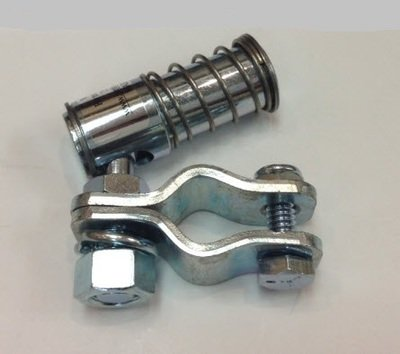 Panther Quick Disconnect - Zinc Plated with clamps