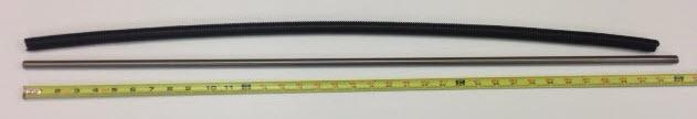"""Panther 36"""" Tie Bar, 1/2"""" Diameter, fine threads, 20 threads per inch"""