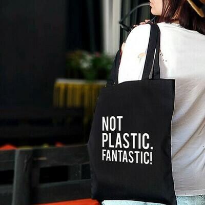 Еко-сумка «Market» Not plastic. Fantastic!