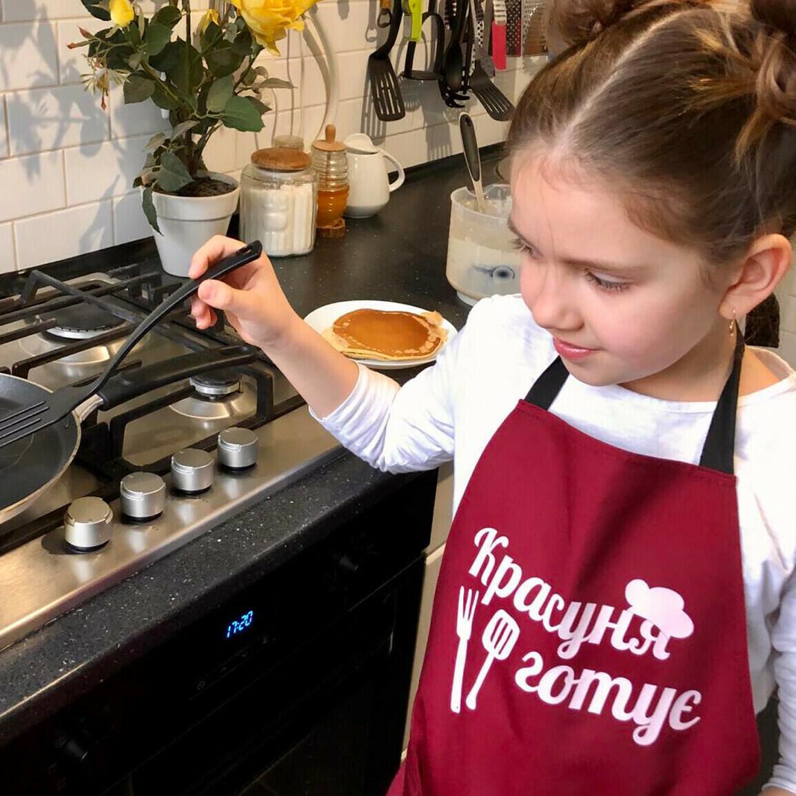 Фартух дитячий Красуня готує
