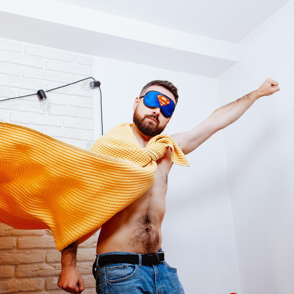 Маска для сну Superhero