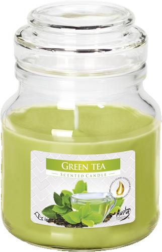 Свічка аромат. «Зелений чай» (в банці)