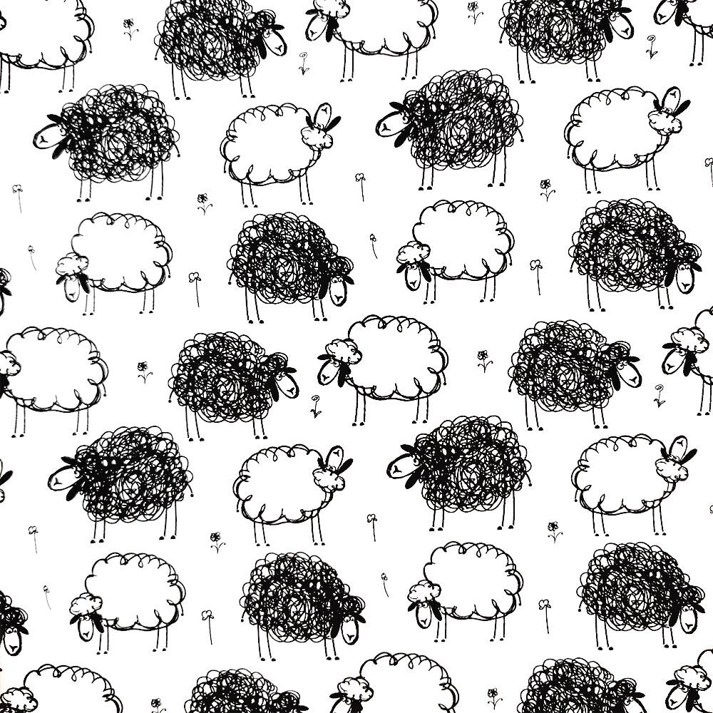 Папір з принтом «Sheeps» (1 лист)