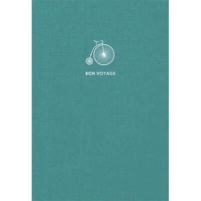 Зошит «Travel book», без ліній. A5 (бірюз).