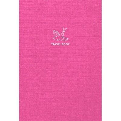 Зошит «Travel book», клітинка. A5 (рожевий).
