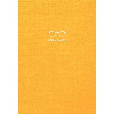 Зошит «Travel book», без ліній. A5 (жовтий).