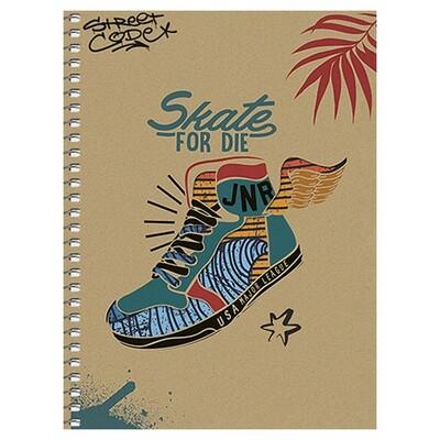 Зошит «Крафт», клітинка. В6 (skate).