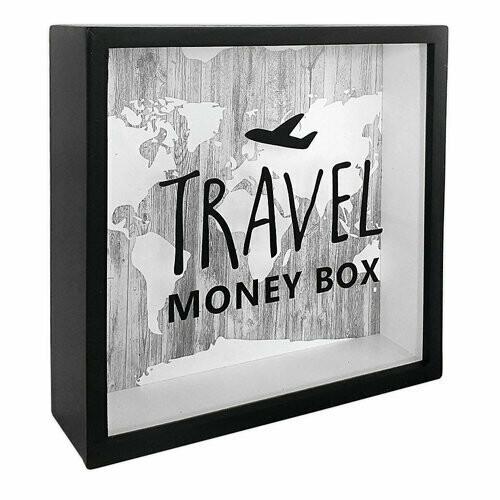 Скарбничка дерев'яна Travel Money Box